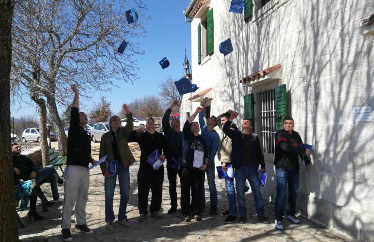 Dodjela diploma korisnicima u Terapijskom centru Cista Velika