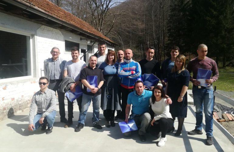 Dodjela diploma korisnicima u Terapijskom centru Ivanovac